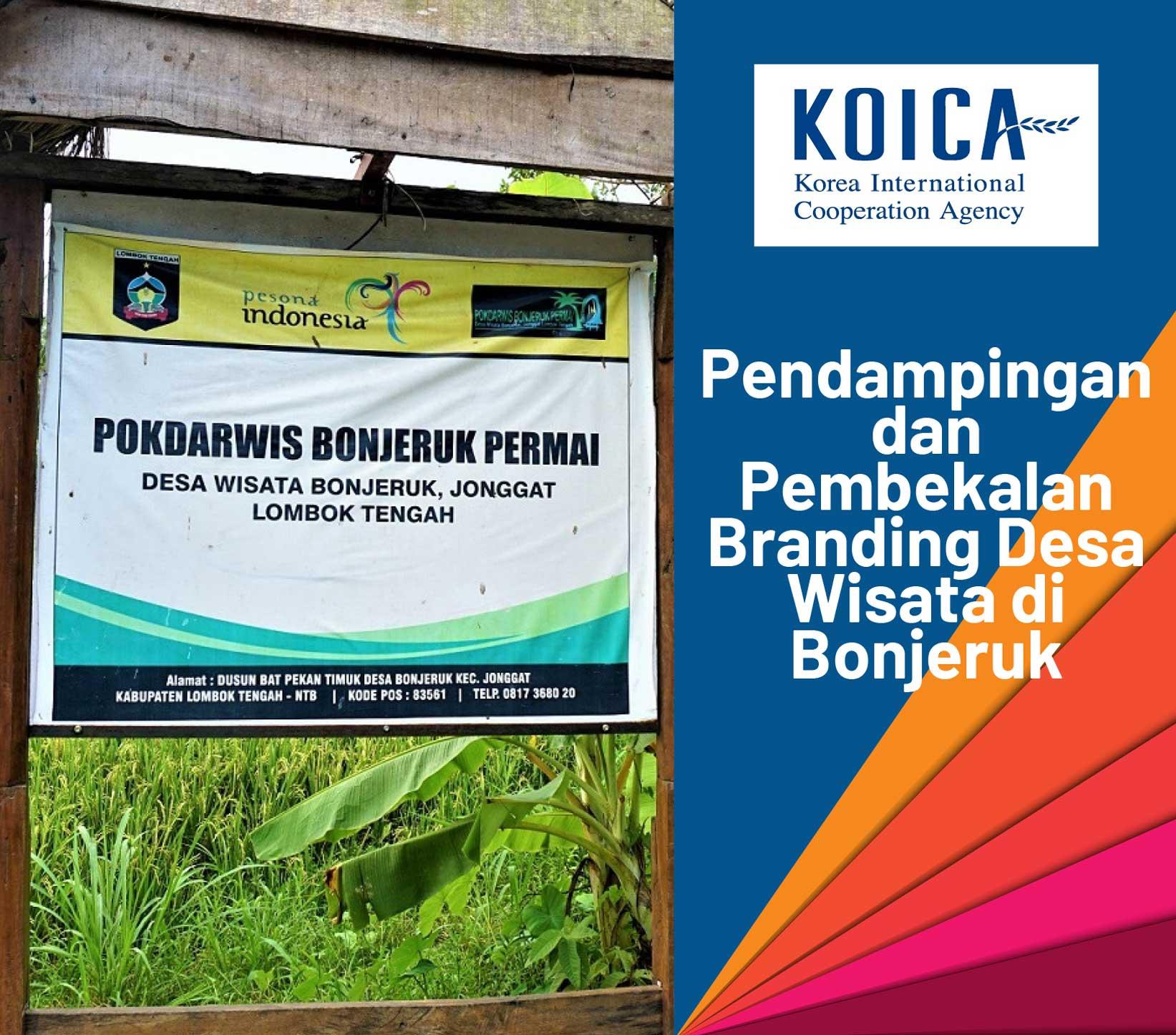Pendampingan dan Pembekalan Branding Desa Wisata di Bonjeruk - Koica